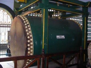 Bedug Kyai Bagelen di Masjid Jami' Purworejo