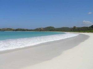 Indahnya Pantai Kuta Pulau Lombok