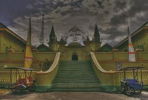 Masjid Raya Pulau Penyengat Tanjung Pinang – Kepulauan Riau