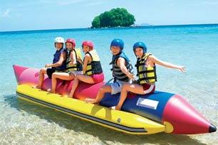 Wisata Air di Tanjung Benoa Watersport