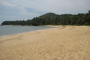 Menikmati Mentari Terbenam di Pinggir Pantai Pasir Panjang