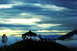 Sunrise di Gunung Sikunir