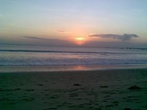 Senja di Pantai Jimbaran