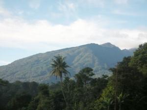 Pemandangan Gunung Salak