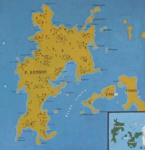 Peta Pulau Komodo