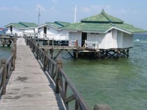 Cottage di Pulau Bidadari