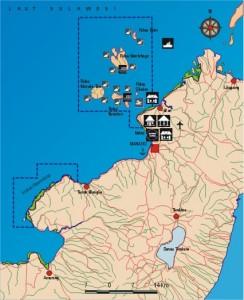Peta Bunaken