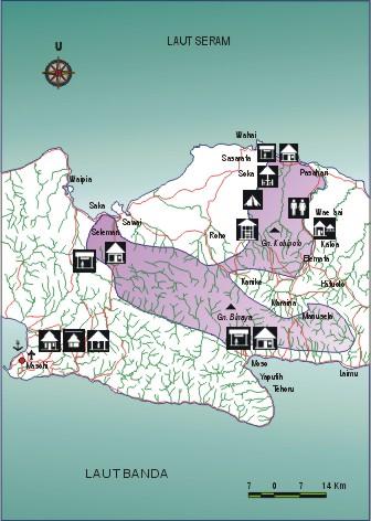Peta Taman Nasional Manusela