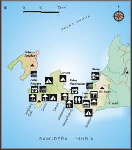 Peta Ujung Kulon