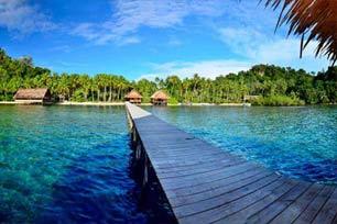 Pulau Pef, Seperti Raja Ampat dalam Satu Tempat