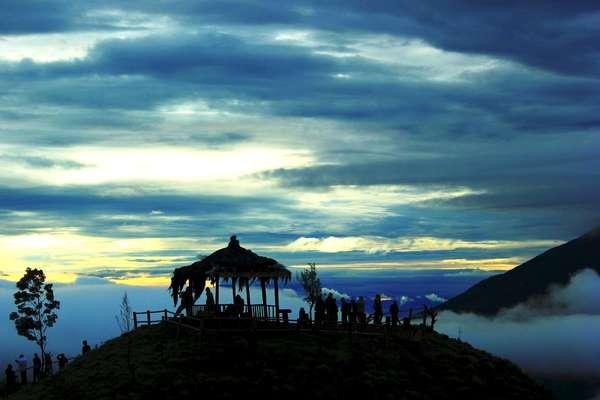 Sunrise di Gunung Sikunir, Dahsyat!